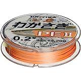 UNITIKA PE 鱼线 PEII 30米 浅橙色