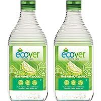 [量贩装] 餐具洗涤剂 EcoBellle 洗碗皂 主体 柠檬香 450毫升×2个