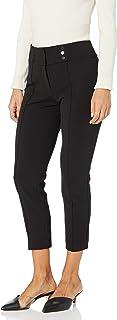 Kasper 女士褶皱前扣长裤