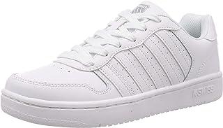 K-Swiss Court Palisades 男士运动鞋 White/Navy/Red 8.5 Court Palisades Sneaker