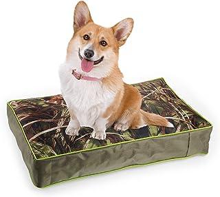 ALL FOR PAWS 狗床,防水狗床带可拆卸枕套,狗笼垫狗床垫(中号,*)