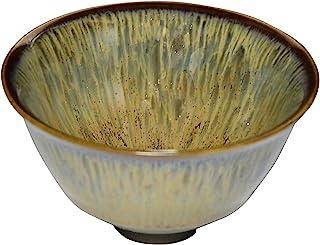 京烧 清水烧 陶あん窑 杯子 (木箱入) 黄瀧天目 蜥蜴849-04