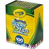 CRAYOLA 繪兒樂 58-5100 Super Tips 可水洗馬克筆,多色,17.78 x 14.73 x 8.6…