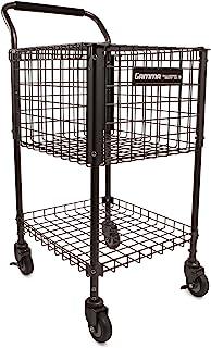 Gamma Sports Premium Tennis Teaching and Travel Carts and Baskets - Unique Sports Equipment, EZ Travel Ball Carriers, Heav...