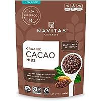 Navitas Organics 可可豆?!劫Q易,無麩質,8盎司/227克袋裝