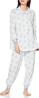 GUNZE 郡是 睡衣 极暖 长袖长裤 内部绒毛 女士