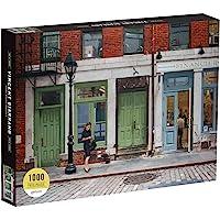 Galison Vincent Giaranno 1000 片纽约市成人智商锻炼拼图,纽约市街道的场景,多色