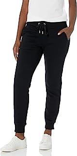 Calvin Klein 女士 Misses 抓绒慢跑裤