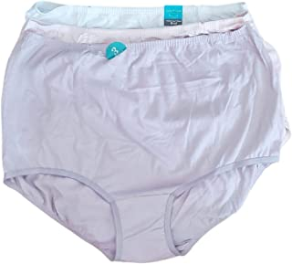Vanity Fair PERFECT Yours 棉质内裤 3 件装,3XL 码,紫色/白色/腮红