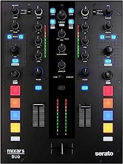 "Mixars 140101007""DUO mkII-2ch"" Pro Serato DJ 混音器"