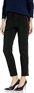 Calvin Klein 女士人造皮侧裤