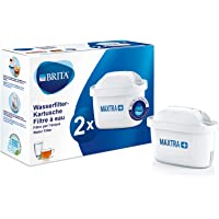 BRITA 碧然德 滤水器滤芯 MAXTRA + 2件装 – 适用于所有 BRITA 滤水器,可减少水垢、氯和气味的自来…