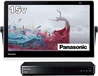 Panasonic 松下电器 15V型 便携 液晶电视 支持互联网视频 私密·Viserra 防水型 500GB HDD录像/蓝光播放功能 黑色 UN-15TD10-K