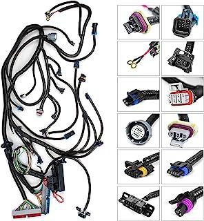 独立线束适合 4L60E 和 1 个*器插头和 3 针 MAF 兼容电缆 LS1 4.8/5.3/6.0 发动机 1997-2006 的 DBC 驱动器