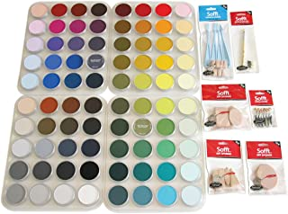 Colorfin PPSTL80 PanPastel 超柔软艺术家蜡笔套装,80 件装