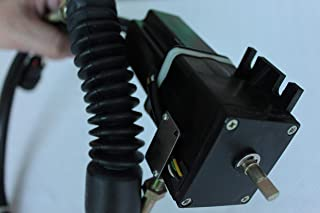 Blueview 电机总成,带圆插头,油门电机,102-8007 适用于 Caterpillar E307 部件