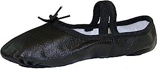 danzcue 成人分离式鞋底真皮休闲鞋