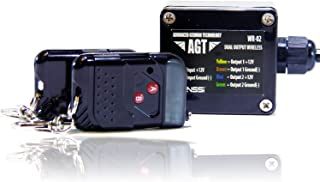 AGT 12V 防水无线遥控 DC 通用 2 通道输出工作 LED 灯