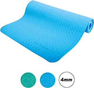 Schildkröt 健身瑜伽垫 4 毫米,蓝色,便携包,960169