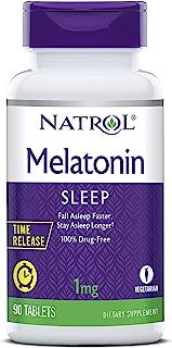 Natrol - Melatonin时间发行1毫克。90 片剂