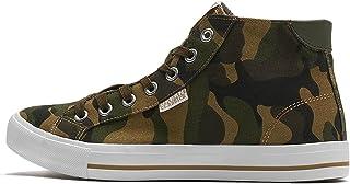 Urban Classics 中性款高帮帆布运动鞋