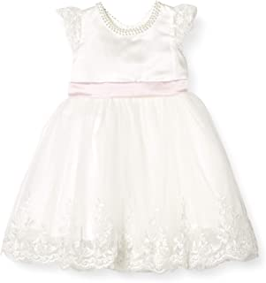 micia luxury(米西亚奢华)连衣裙礼服 女孩 6个月-6岁 亮片 生日服装 白色 6T