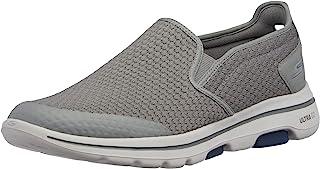 Skechers Men's GO Walk 5-APPRIZE Slip On Trainers, Textile/Synthetic/Black Trim BBK, 11.5 (46 EU) Go Walk 5 Apprize