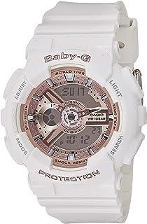 Casio 卡西欧 Baby-G BA-110 白色粉色 (BA-110-7A1DR)