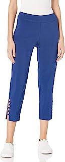 SLIM-SATION 女式纯色紧身裤