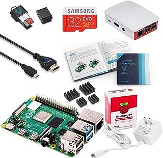 Vilros Raspberry Pi 4 完整入门套件 带官方盒子(红/白)(8GB)