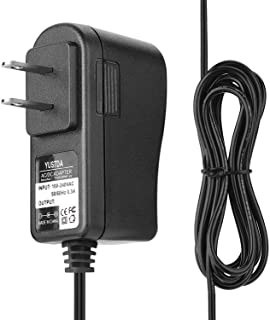 YUSTDA(6.5英尺超长)5V 交流/直流适配器适用于Dogtra YS300 EF-3000 YS 300 EF3000 EF3000 金色接收器和发射器 EF-Collar IQ 通用 5VDC 电源线电缆电池充电器 PSU