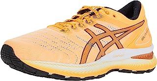 ASICS 亚瑟士 男士 Gel-Nimbus 22 跑鞋 8M 橙色 POP/黑色