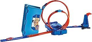 Hot Wheels FLK90 Stunt Builder 特技生成器,多功能回环轨道玩具箱,多色