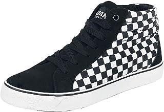Urban Classics 男士/女士运动鞋印花高帆布成人