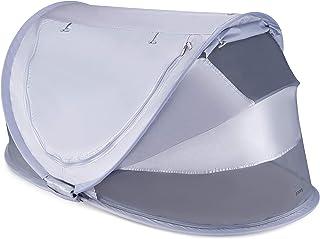 Joovy Gloo 婴儿旅行床,便携式帐篷,婴儿帐篷,大号,金属银色