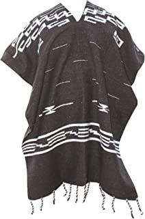 Del Mex Clint Eastwood 细部西部牛仔斗篷服装毛衣,墨西哥手工编织制造