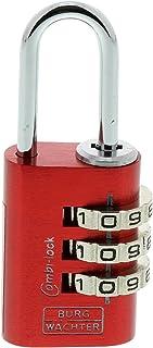 Burg-Wächter 可调节密码锁套装,Combi Lock Duo 88 20 Fun SB,钢圈厚度:3.2 毫米