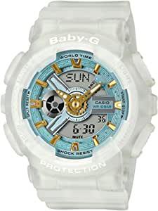 G-Shock BA110SC-7A 透明/蓝色均码