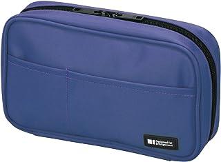 LIHITLAB 筆盒 [ 書本式 ] A7551? 藍色