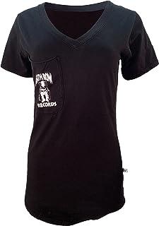 NCAA 堪萨斯大学鸦鹰队 01AMDD13 男式条纹弹力短袖 T 恤