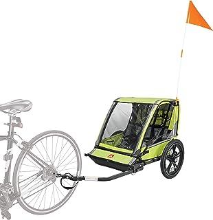 Allen Sports Hi-Viz 2 儿童自行车拖车,型号 ET2