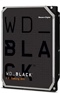 WD 6TB 黑盘 硬盘驱动器 7200RPM SATA 6Gb/s 64MB缓存 3.5英寸(约8.89cm)