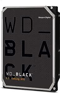 Western Digital 西部数据 4TB WD Black 高性能内置硬盘-7200 RPM级,SATA 6 Gb / s,256 MB高速缓存,3.5英寸(约8.89厘米)-WD4005FZBX