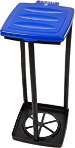 Wakeman Outdoors Portable Garbage Trash Bag Holder - Blue