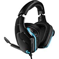 Logicool 罗技 G 游戏头戴式耳机 G633s 黑色 Dolby 7.1ch 降噪 附带麦克风 电脑 PS4 S…