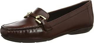 Geox 女士 Annytah 2 Leather Bit 乐福平底鞋