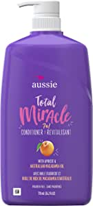 aussie TOTAL 奇迹系列7 N1 护发素 26.2 Fluid Ounce (Pack of 4)