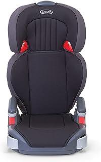Graco 葛莱 Junior Maxi 轻质高靠背增高儿童汽车座椅, Group 2/3(4-12岁左右,15-36公斤),黑色