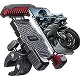 Joyroom 自行车手机支架,摩托车手机支架,摩托车车把手机夹,滑板车手机夹,适用于手机 11 / 手机 11 Pro…