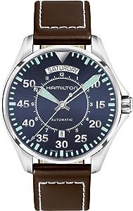 [HAMILTON]HAMILTON 手表 卡其色 机械式自动上弦 H64615545 男士 【正规进口商品】